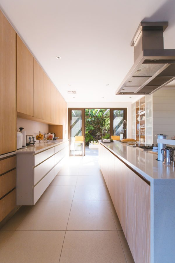 Narrow Kitchen heating and cooling your home tips