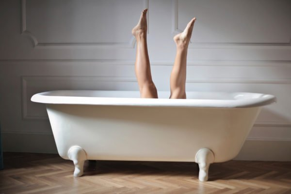 bath bathroom bathtub