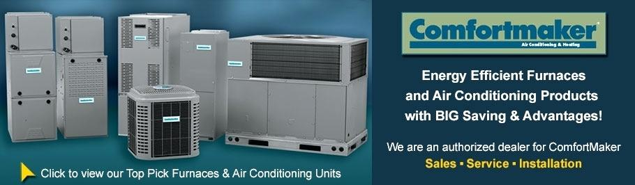 Turner Heating Cooling Comfortmaker Units Byron MI